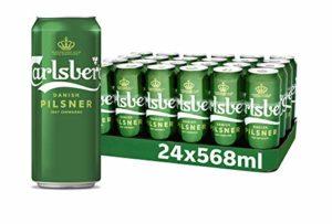 Carlsberg pilsner Lager Beer Pint Cans, 24 x 568 ml, Case of 24