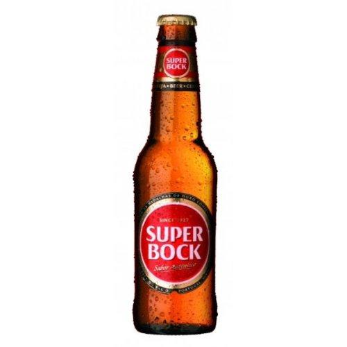 Cerveja Super Bock Lager (24 x 330ml Bottles)