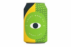 Coast Beer Co Hazy IPA 0.0% ABV Craft Beer 330ml (12 Pack)