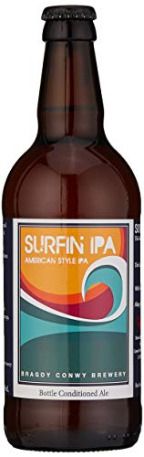 Conwy Brewery Surfin IPA bottles, 500 ml
