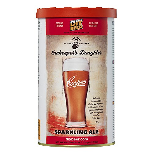 Coopers 828 Inkeeper's Daughter Sparkling Ale Homebrewing Hopped Malt Extract Thomas Inkeeprs Brew Can