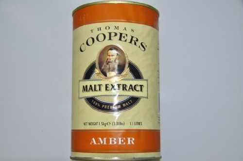 Coopers Amber Malt Extract For Home Brew Beer