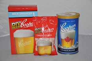 Coopers Canadian Blonde Refill Home Brew Beer Kit (Concentrate + Enhancer + Drops)