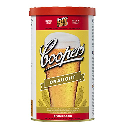 Coopers DIY Beer Draught Homebrewing Craft Beer Brewing Extract