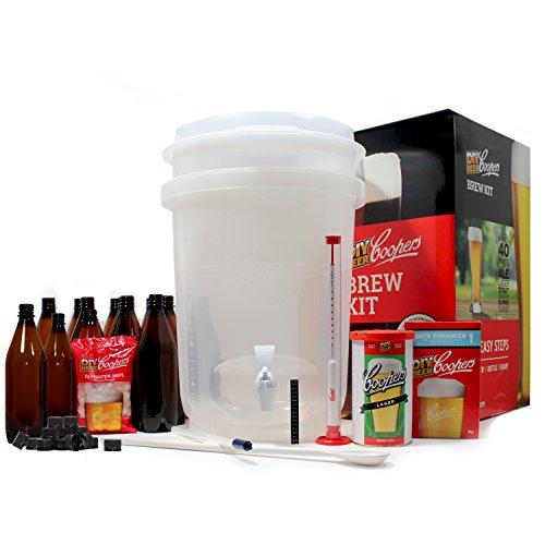 Coopers DIY Beer Home Brewing 6 Gallon Craft Beer Making Kit
