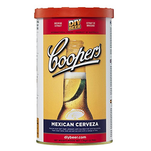 Coopers 907 Mexican Cerveza Homebrewing Hopped Malt Extract