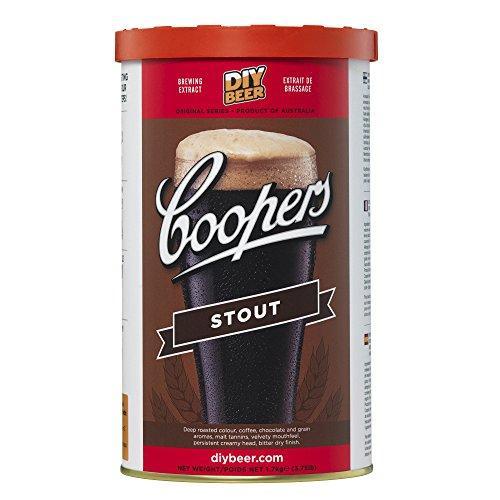 Coopers 892 Stout Homebrewing Hopped Malt Extract, HME