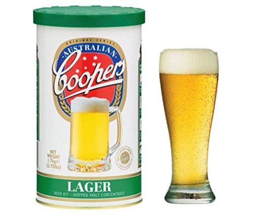 Coopers Lager Home Brew Beer Kit – Makes 40 Pints!
