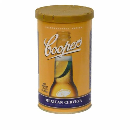 Coopers Mexican Cerveza Homebrewing Craft Beer Brewing Extract