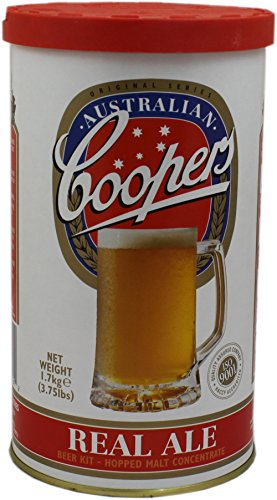 Coopers Real Ale Home Brew Beer Kit – Makes 40 Pints!