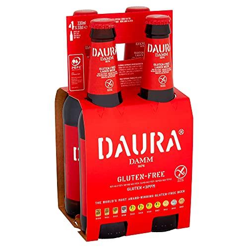 Damm – Daura Gluten-Free Beer, 4 x 330ml