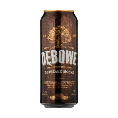 Debowe Dojrzale Mocne 7% Polish Lager 24 x 500ml cans
