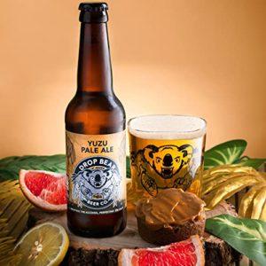 Drop Bear Beer, Alcohol-Free Beer, Premium Non Alcoholic Craft Beer, Gluten Free, Vegan, 330ml Bottles (Yuzu Pale Ale…