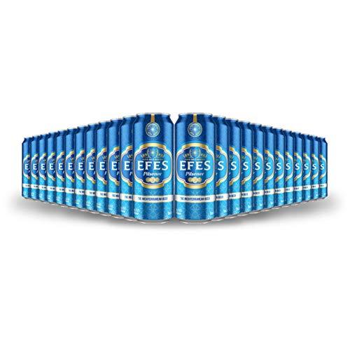 EFES Pilsner Lager Cans (24 x 500ml – 5%)