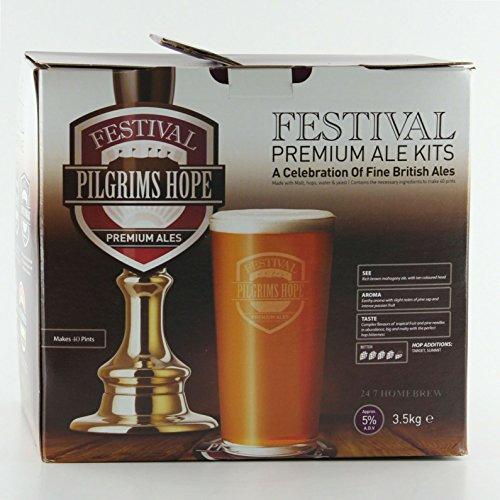Festival Premium Ale Pilgrims Hope Dark Bitter 3kg Liquid Malt Extract