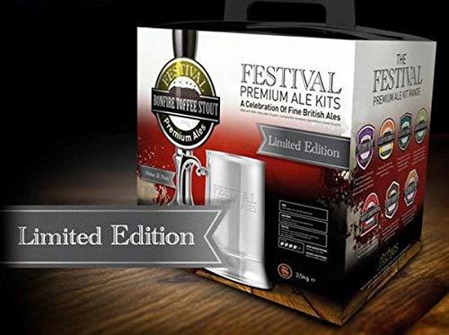 Festival Premium Ales – Bonfire Toffee Stout 3.5Kg Beer Homebrew Kit Home Brew