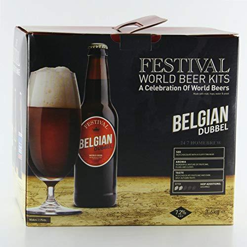 Festival World Beers Belgian Dubbel 3kg Liquid Malt Extract