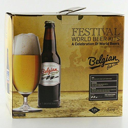 Festival World Beers Belgian Pale Ale 3kg Liquid Malt Extract