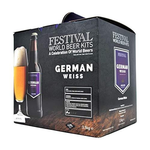 Festival World Beers – German Weiss (Wheat) Beer Kit