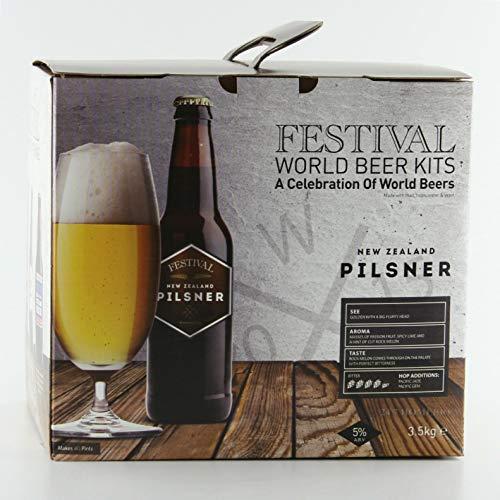Festival World Beers New Zealand Pilsner 3kg Liquid Malt Extract
