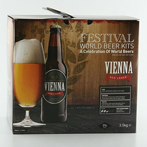 Festival World Beers Vienna Red Lager 3kg Liquid Malt Extract