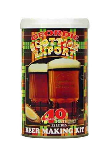 Geordie Beer Kits – Geordie Scottish Export Home Brew Kit