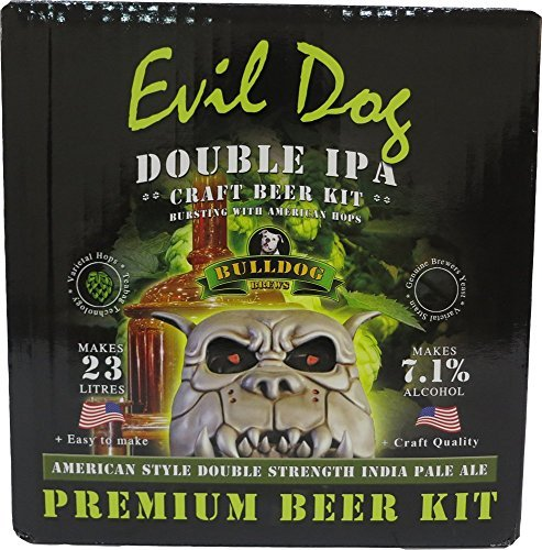 Hambleton Bard Bulldog Home brew beer kit Evil Dog American Double IPA