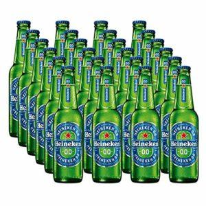 Heineken 0.0 Alcohol Free Beer Cans, 24×330 ml