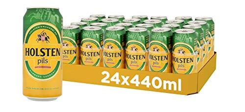 Holsten Pils Lager Beer, 24 x 440 ml, Case of 24