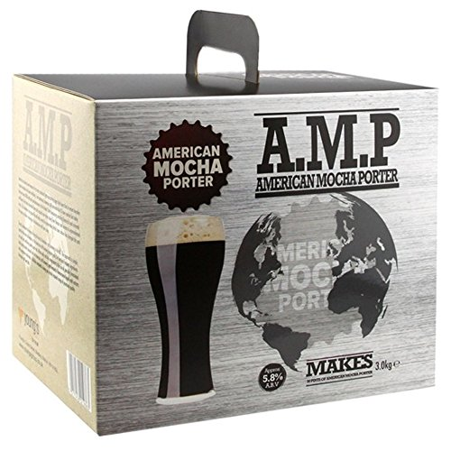 Home Brew Beer Kit – Young's American Mocha Porter – 30 pints
