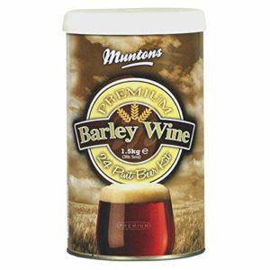 Home Brew Ingredients – Muntons Barley Wine – 24 Pint Beer Kit