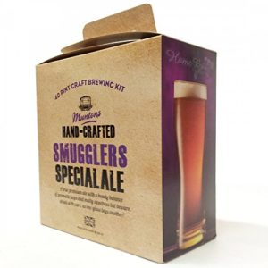 Home Brew Ingredients – Muntons Hand Crafted – Smugglers Special Premium Ale – 40 Pint Homebrew Beer Kit