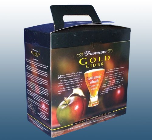 Home Brew Ingredients – Muntons Premium Gold – Autumn Blush Cider – 30 Pint Beer Kit