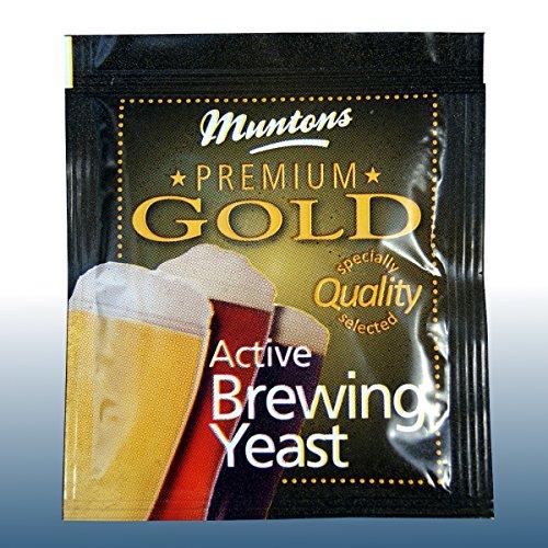 Home Brew – Muntons Premium Gold Active Brewing Yeast