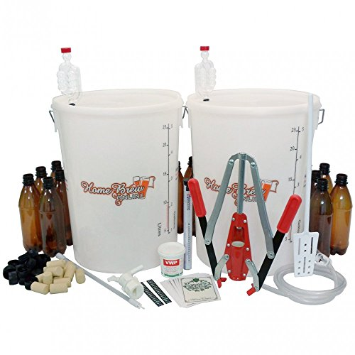 Home Brew Online Beer and Wine Starter Equipment Pack