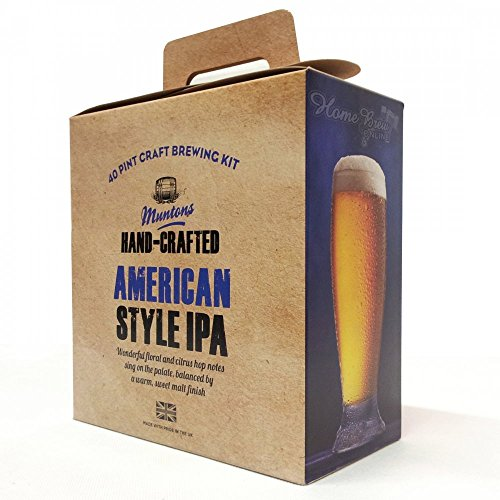 Homebrew – Muntons Hand-Crafted 3.5kg – American Style I.P.A – Ingredient Kit