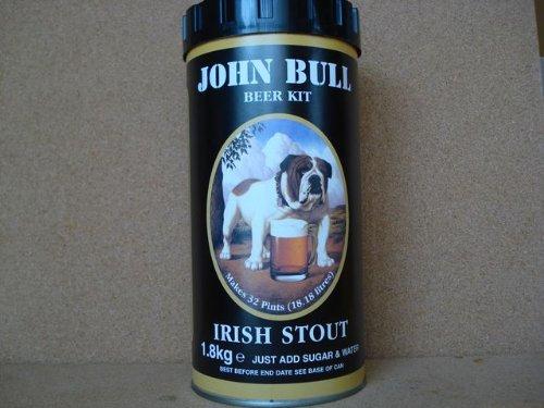 John Bull Beer Kit Irish Stout makes 32 pints