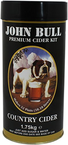 John Bull Country Apple Cider Home Brew Beer Kit – Makes 40 Pints!
