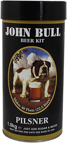 John Bull Pilsner Lager Home Brew Beer Kit – Makes 40 Pints!
