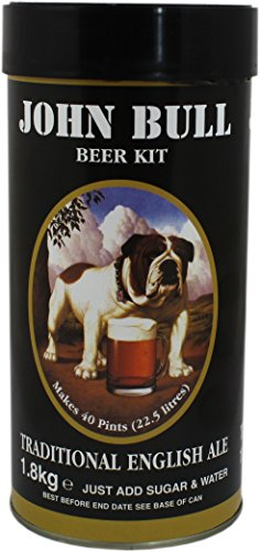 John Bull Traditional English Ale Home Brew Beer Kit – Makes 40 Pints!