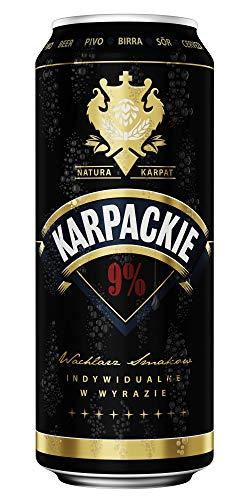 Karpackie Super Mocne 9% Lager 24x500ml Cans