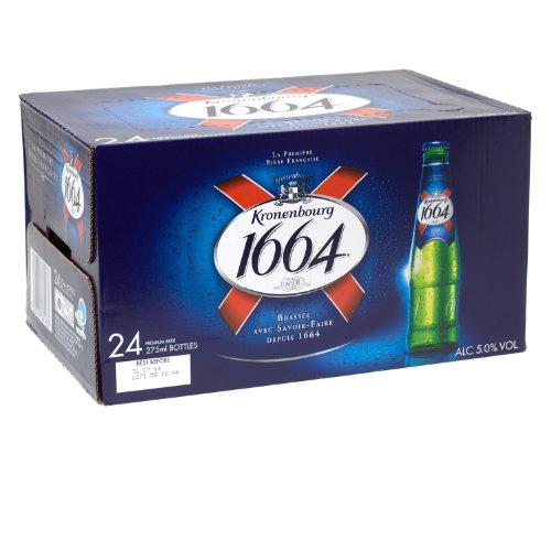 Kronenbourg 1664 Beer 275ml Bottle – 24 Pack