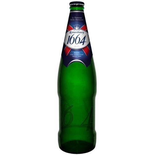 Kronenbourg 1664 Premium Lager (12 x 660ml Bottles)