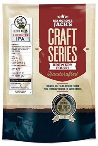 Mangrove Jack's 40 Pint (23L) Craft Series American IPA & Dry Hops Home Brew Beer Kit