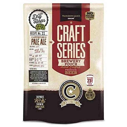 Mangrove Jack's American Pale Ale Craft Beer Kit Pouches 23L 4.4% ABV