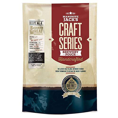 Mangrove Jack's Craft Series Bavarian Wheat Beer Kit Pouch – 2.2kg