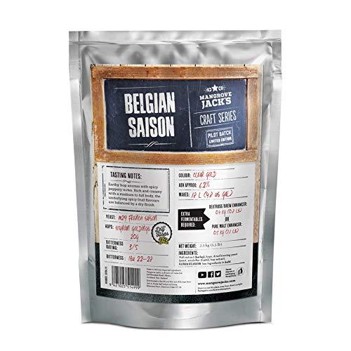 Mangrove Jack's Craft Series Belgian Saison Beer Brewing Kit (Limited Edition)