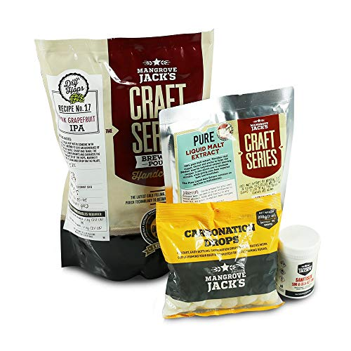 Mangrove Jacks Craft Series Brew Day Package – Pink Grapefruit IPA
