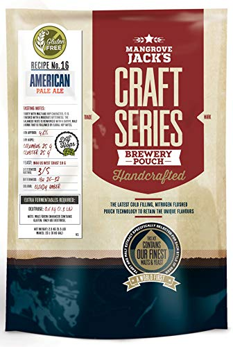 Mangrove Jacks Craft Series Gluten Free American Pale Ale with Dry Hops