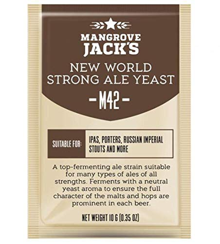 Mangrove Jack's Craft Series Yeast M42 New World Strong Ale (10g)